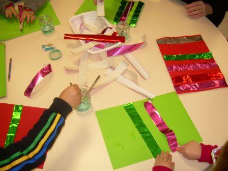 Premiers ateliers de no l maternelle saint martial - Noel petite section ...